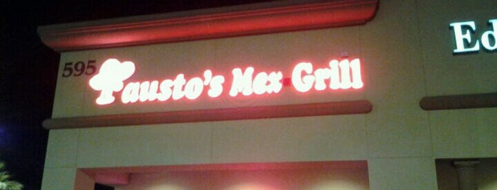 Fausto's Mexican Grill is one of Jeremy 님이 좋아한 장소.