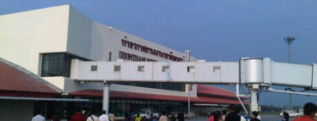 Udon Thani International Airport (UTH) is one of Asia - done / to do.