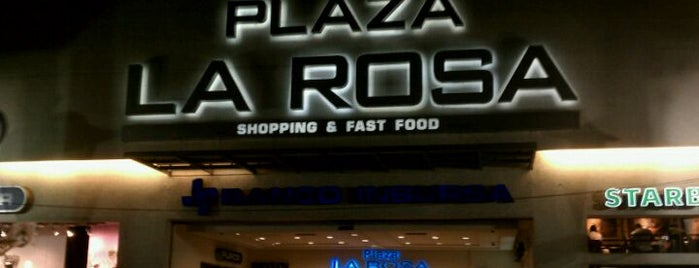 Plaza La Rosa is one of Centros Comerciales DF.