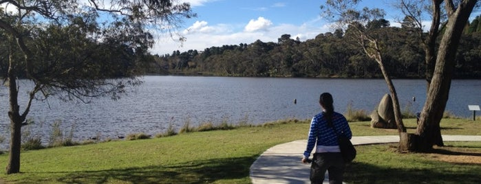 Wentworth Falls Lake is one of Sharonさんのお気に入りスポット.