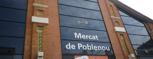 Mercat de Poblenou is one of Кафе Барселона.