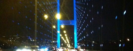 Barbaros Bulvarı - Boğaziçi Köprüsü Bağlantı Yolu is one of İstanbul'da OLMAK lazım....