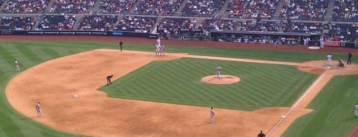 Yankee Stadium is one of New York.