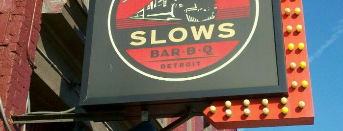 Slows Bar-B-Q is one of Favorite Places in Detroit #visitUS.