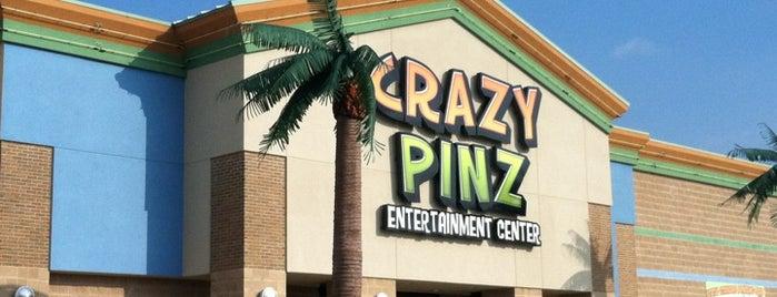 Crazy Pinz Entertainment Center is one of Tempat yang Disukai Lauren.