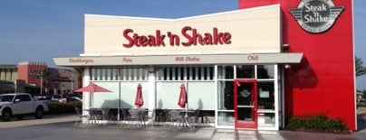 Steak 'n Shake is one of Places I want to try out (eateries).