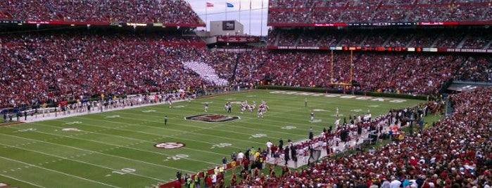 Williams-Brice Stadium is one of SEC Football.