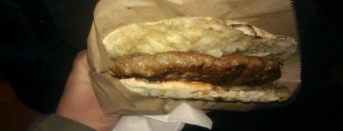Prava pljeskavica is one of Fast food tzv. has sa trafike.