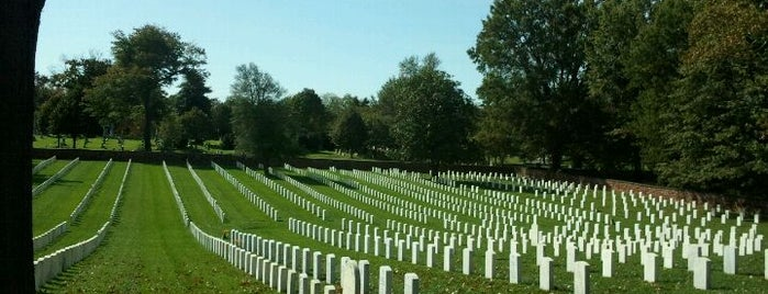 Alexandria National Cemetery is one of Virginia Jaunts.