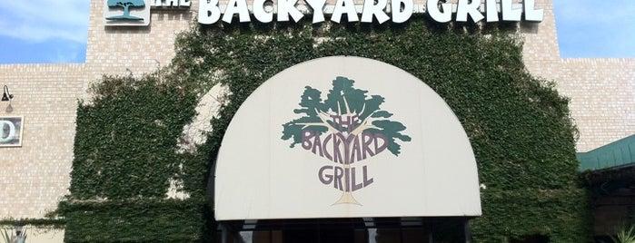 The Backyard Grill is one of สถานที่ที่บันทึกไว้ของ rodney.