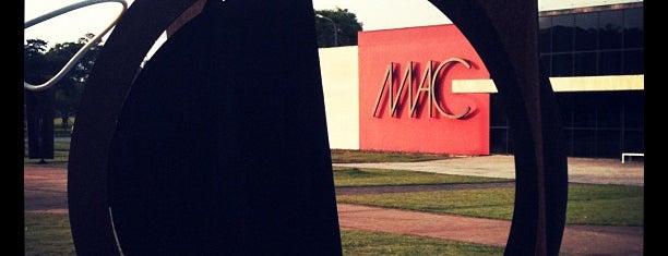 Museu de Arte Contemporânea da Universidade de São Paulo (MAC/USP) is one of Coolplaces São Paulo.