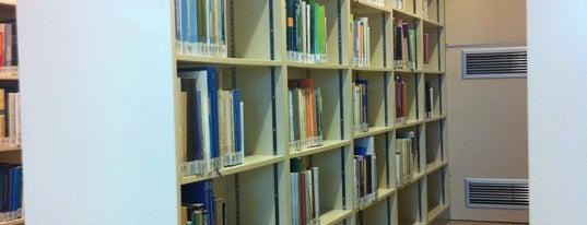 Istanbul Kültür Üniversitesi Kütüphanesi is one of Tempat yang Disukai Özge.