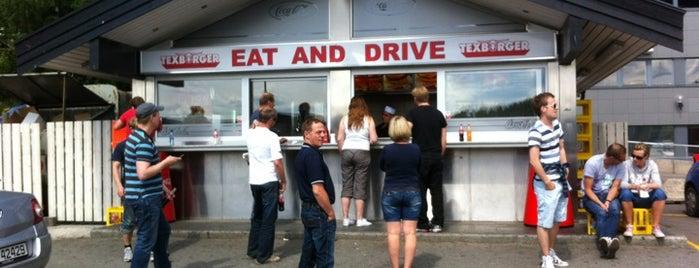 Texburger is one of Tempat yang Disimpan N..