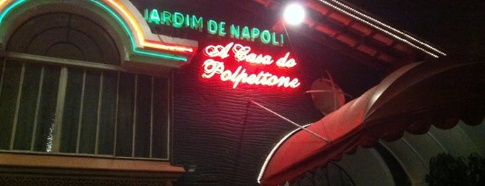 Jardim de Napoli is one of Restaurantes.