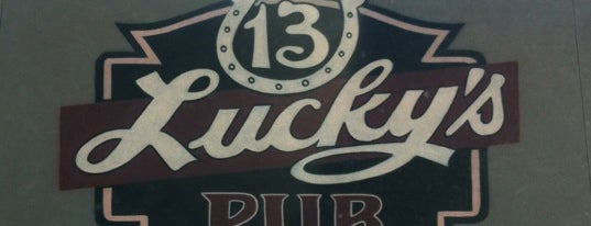 Lucky's 13 Pub is one of All The Places I Can Think of That I've been.