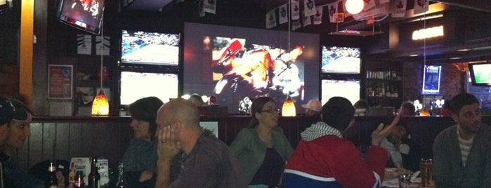 Hoops Bar & Grill is one of Molson Canadian Hockey House Bars.