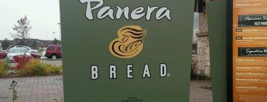 Panera Bread is one of สถานที่ที่ Mike ถูกใจ.