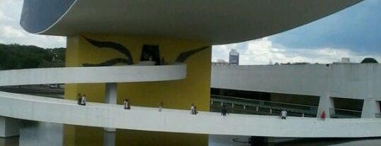 Museu Oscar Niemeyer (MON) is one of Cursos e aulas de fotografia.