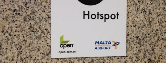 Aeropuerto Internacional de Malta (MLA) is one of Free WiFi Airports.