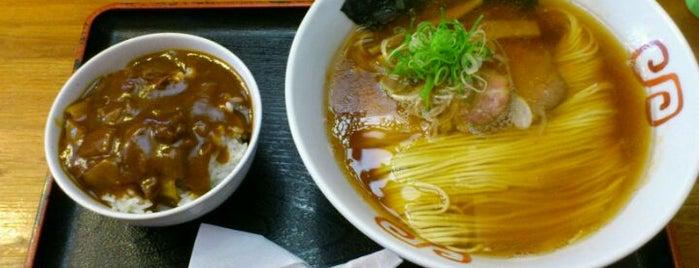 麺や食堂 is one of Locais curtidos por Hideo.