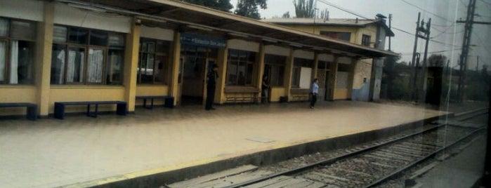 Estación San Javier is one of Estaciones Metrotrén y Expreso Maule.