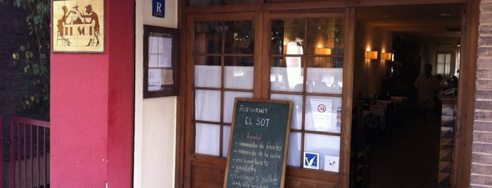 Restaurant El Sot is one of Lugares guardados de Oriol.