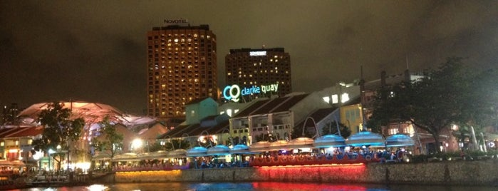 Clarke Quay is one of Shiok Week In Singapore.