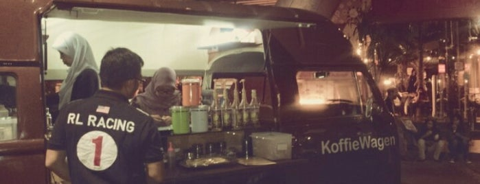 Koffie Wagen is one of What happens when food-addict strikes in Bandung.