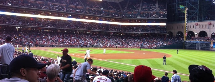 Minute Maid Park is one of Major League Baseball Parks.
