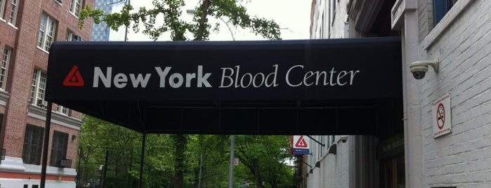 New York Blood Center is one of Locais salvos de Moses.