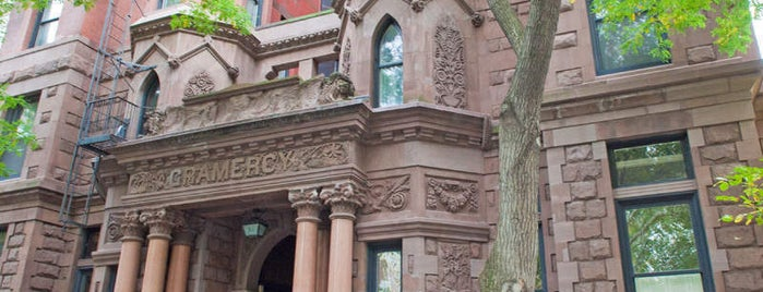 Gramercy Park is one of Manhattan Neighbohoods.