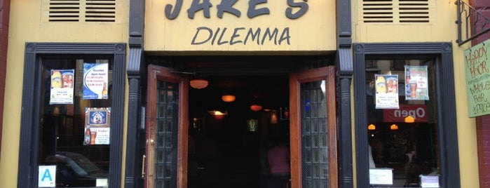 Jake's Dilemma is one of Bars I've been to.