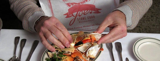 Joe's Stone Crab is one of Miami.