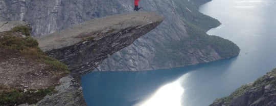 Trolltunga is one of Go Ahead, Be A Tourist.