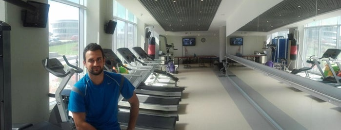 Ttech Gym is one of สถานที่ที่ Volkan ถูกใจ.