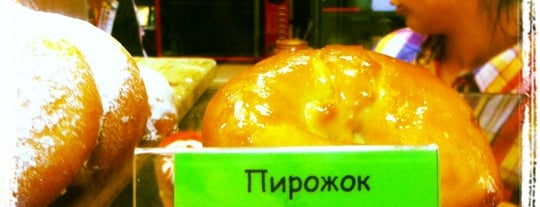 Пирожковая у Анжелы is one of สถานที่ที่บันทึกไว้ของ Ленка.