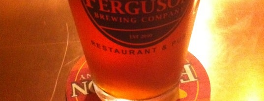 Ferguson Brewing Company is one of St. Louis brewpubs.