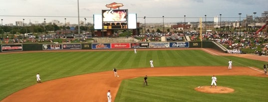 Dow Diamond is one of Minor League Ballparks.