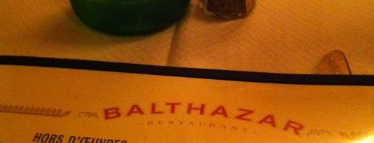 Balthazar is one of New York Favorites.