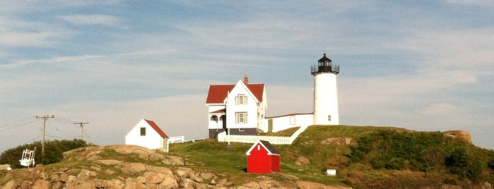 Nubble Lighthouse is one of Places I like.