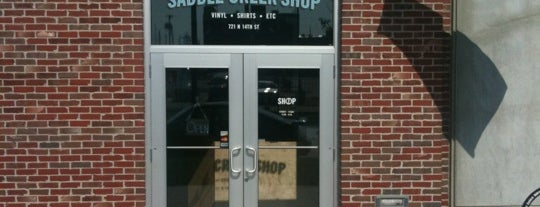 Saddle Creek Shop is one of Posti che sono piaciuti a Aaron.