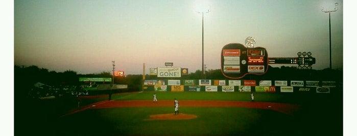 Herschel Greer Stadium is one of Stadiums Visited.