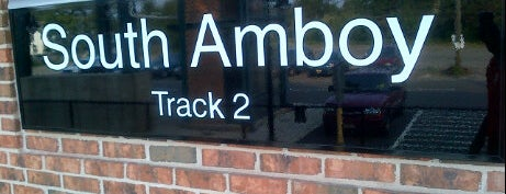 NJT - South Amboy Station (NJCL) is one of New Jersey Transit Train Stations.