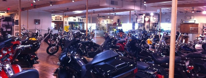 Dudley Perkins Co. Harley-Davidson is one of Outsidelands.