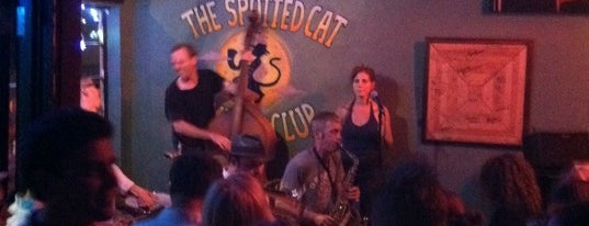The Spotted Cat Music Club is one of New Orleans's Best Jazz Clubs - 2012.