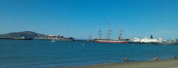 Aquatic Park is one of San Francisco Bay.