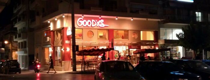 Goody's is one of Lieux qui ont plu à Stelios.