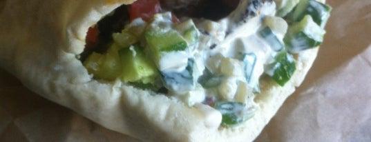 "Oren's Hummus Shop is one of ""Dream Sandwiches"" List."