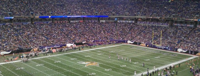 Hubert H. Humphrey Metrodome is one of Great Sport Locations Across United States.