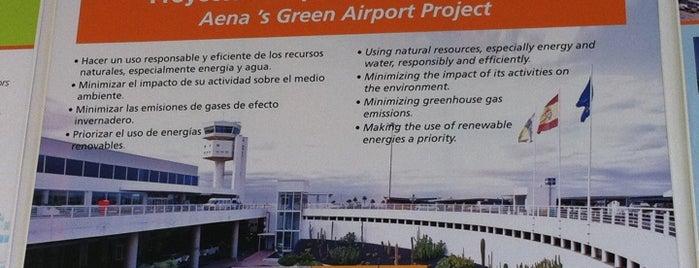 Aeropuerto de Lanzarote (ACE) is one of Airports in SPAIN.